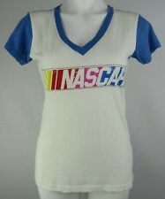 Nascar G-III 4her Women's Short Sleeve V-Neck Rhinestone Embellished T-Shirt