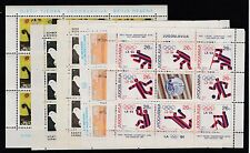 FRANCOBOLLI 1973/84 JUGOSLAVIA 5 MF MNH Z/6954