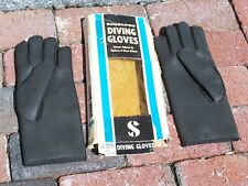 Vintage Smoothskin Scubapro Diving Gloves