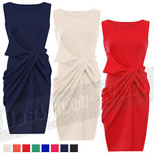 Unbranded Crew Neck Party Sleeveless Dresses for Women