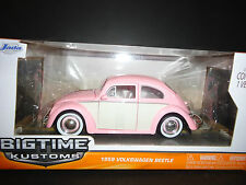 Jada Volkswagen Beetle 1959 Pink 1/24