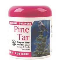 Bronner Brothers Pine Tar Super Gro Conditioner, 6 oz
