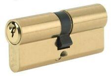 NEW Yale P-24050-SB Euro Profile Cylinder Lock 40/50 (100mm) Satin Brass