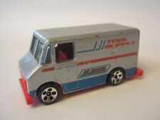 Hot Wheels Silver Hi Bank Racing Tool Supply Pit Crew, dated 1986 (012-9)