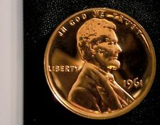 1961 1C RD (Proof) Lincoln Cent