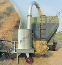 Bale Processor, Bale Grinder, Straw Blower Square Bales Hay, Straw: PTO Powered!