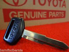 Toyota Master Key Blank Corolla Celica Starlet Supra FX16 MR2 FX OEM Japan