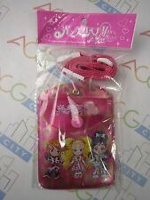Anime Pretty Cure Max Heart Black White SHiny Luminous Card Holder With Strap
