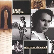 SHANE FONTAYNE - What Nature Intended (CD, 2003, Mile End Rec.) BRAND NEW SEALED