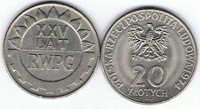 20 Zl Sondermuenze XXV Lat RWPG 1974 MN TOP