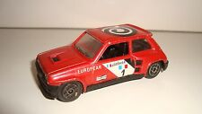 ANCIENNE VOITURE SOLIDO R5 TURBO 1/43 METAL (8x3,5cm)
