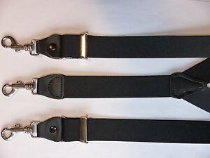 NEU-Y-Hosenträger mit Karabiner Haken von  110cm -160cm große Farben Auswahl