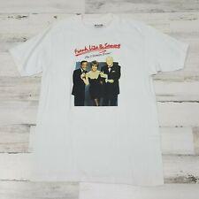 RARE ! 80s FRANK SINATRA LIZA MINNELLI SAMMY DAVIS JR ULTIMATE EVENT t-shirt L