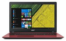 Acer Aspire 3 A315-51-36DL 15.6 in FHD Intel Core i3 4GB 128GB SSD Laptop - Red
