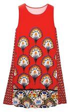 Desigual VEST VENTO 19SWVWA4 robe courte rouge sans manches femme coloris 3061