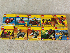 LEGO SHELL - Complete set of 10: Promotional sets (#2535-2544)