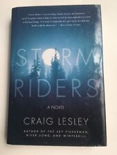 Storm Riders: A Novel by Lesley, Craig hardcover dust jacket first ed