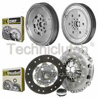LUK 3 PART CLUTCH KIT AND LUK DMF FOR CITROEN C5 ESTATE 2.0 HDI