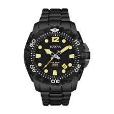 Bulova Sea King Marine Star Chronograph Stainless Steel Watch Men's 98B242