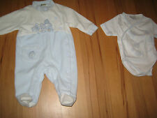 Lot body Pyjama socks birth set 3 mois months 62 cm enfant garçon boy junge