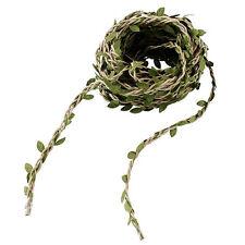 10M Green Artificial Plastic Ivy Leaf Garland Plants Vine Foliage Home Decor AS