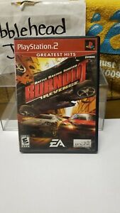 CIB BURNOUT REVENGE PS2 SONY PLAYSTATION 2 VIDEO GAME >>GREATEST HITS