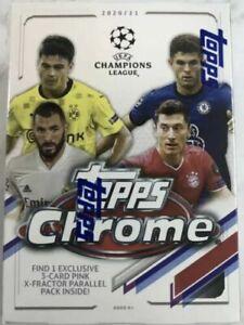 2020-21 Topps Chrome UEFA Champions League *YOU PICK* Base *BUY 2+ & SAVE* RC's