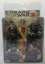 NECA GEARS OF WAR 3 MARCUS FENIX  LOCUST GRUNT COG TAGS Sealed TRU