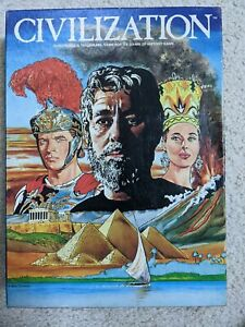 CIVILIZATION Game of the Heroic Age UNPUNCHED and complete (Avalon Hill)