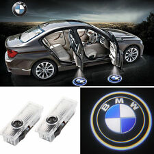 2pcs LED Welcome Projector Logo Ghost Shadow Car Door Lights Bombillas For BMW