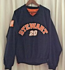 Tony Stewart 20 HomeDepot Reversible BlackOrange NASCAR Racing Jacket Large NWOT