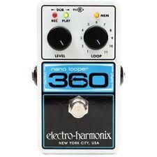 AS NEW Electro Harmonix EHX Nano Looper 360 Loop Guitar Effect pedal RRP 279.00