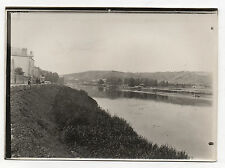 PHOTO Vintage 1906 - SENS FRANCE YONNE - Bords de l'Yonne Quai du Petit Hameau