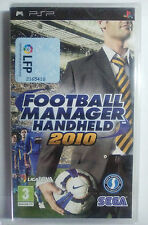 FOOTBALL MANAGER HANDHELD 2010 PARA SONY PSP. PAL-ESP. NUEVO, PRECINTADO.