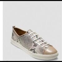 Cole Haan Grand Crosscourt Snake-Embossed Leather Sneakers