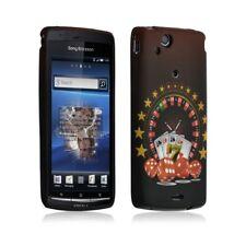 Housse coque etui silicone pour Sony Ericsson Xperia X12 Arc / Arc S avec motif