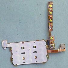 100% ORIGINALE SONY ERICSSON W995 interfaccia utente Tastierino a membrana + FLEX + LATO PULSANTI TASTI