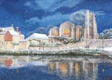 HEART OF KENT HOSPICE CHARITY CHRISTMAS CARDS : MAIDSTONE IN WINTER 10 PK