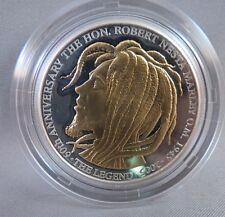 BOB MARLEY $50 SILVER GOLD OZ. OUNCE PROOF JAMAICA COIN reggae art rasta bank us