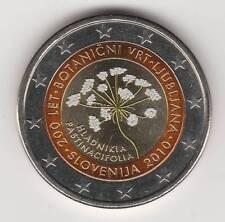 --  2 EURO COULEUR / SLOVENIE 2010 -- JARDIN BOTANIQUE