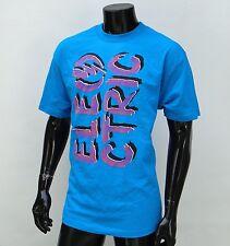 Electric Usa Skateboard Logo Blue Mens T shirt Size Large
