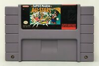 SNES Super Mario All-Stars Video Game Cartridge *Authentic/Cleaned/Tested/Saves*