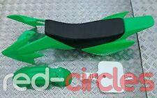 GREEN CRF50 PIT BIKE FAIRING PLASTIC SET & SEAT PAD 50cc 110cc 125cc PITBIKE