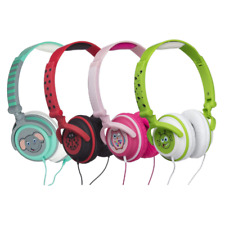 MY DOODLES BY KITSOUND FUN KIDS 85Db ON-EAR HEADPHONES - 4 DESIGNS & COLOURS