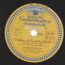 Margarete KLOSE canta Gluck 1954: Orpheus e bastoncino