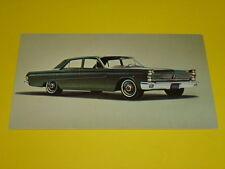 1965 MERCURY COMET 202 4-DOOR SEDAN POSTCARD, DEALER ADVERTISEMENT