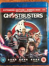 Kristen Wiig Melissa McCarthy GHOSTBUSTERS ~ 2016 Horror Comedy UK Blu-ray