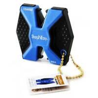 AccuSharp Blue Sharp-N-Easy 2-Step Knife Sharpener w/ Ceramic Rods 334C