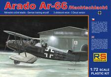 RS Models 1/72  Arado Ar-66 Nachtschlacht German Training Bi-Plane Model Kit