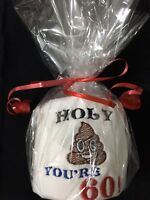 Novelty Toilet Loo Roll Funny Gift 60th 60 Sixty Sixtieth Birthday Present Fun